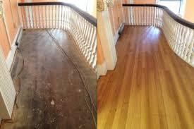 Hardwood Floor Restoration Wood Floor Repair Nanticoke Pa Gouges Scratches Water Damage