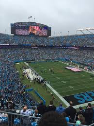 Bank Of America Stadium Map by Bank Of America Stadium Section 533 Home Of Carolina Panthers
