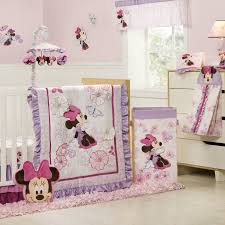 Crib Bedding For Girls Minnie Mouse Baby Blanket Ideas Home Inspirations Design