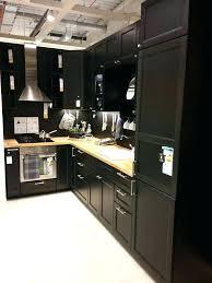 cuisine noir ikea meuble de cuisine noir laque simple meuble cuisine laque noir