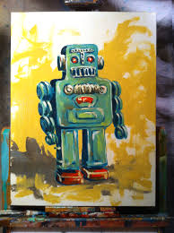 painting robot robot painting