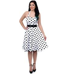 fashion trends cute pink polka dot dresses mixed with black