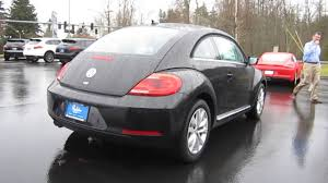 volkswagen bug black 2014 volkswagen beetle black stock 109698 walk around youtube