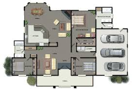 Floor Plans Creator Beach House Floor Plans Design With Garden Stuff Housing