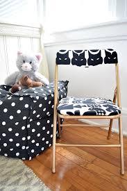 diy upholstered kid u0027s folding chair