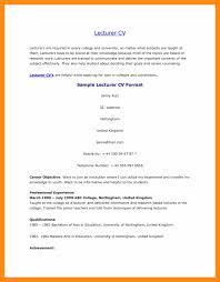 Resume Format For Teachers Resume Format For Applying Lecturer Checklist Template Free Sample