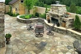 Outdoor Patio Fireplaces Maine Cabin Tub Fireplace Patio Ground And Ideas Outdoor