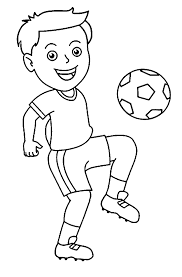 football black and white football player football clipart black
