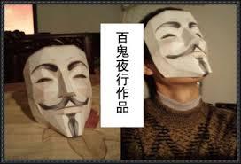 V For Vendetta Mask Size V For Vendetta Mask Papercraft Free Template Download