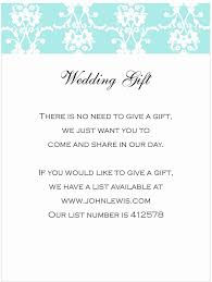 wedding gift registry uk uk wedding gift registry inspirational wedding invite gift list