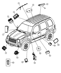 2003 jeep liberty transmission module sketch coloring page