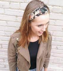 silk headband floral print silk headband black and women s accessories