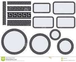 Greek Motifs Greek Design Elements Stock Vector Illustration Of Berries 4002770