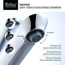 bathroom sink bathroom sink aerator series adjustable feature
