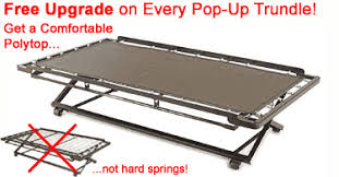 pop up trundle bed frame
