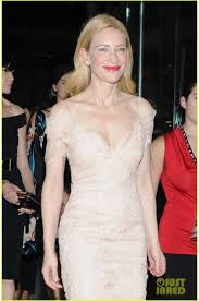 cate blanchett new york film festival tribute gala champagne lace