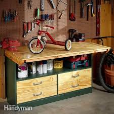 Tool Bench For Garage 17 Free Workbench Plans And Diy Designs