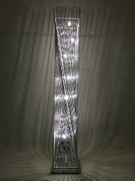 lighting collection 700187 led floor lamp chrome amazon co uk