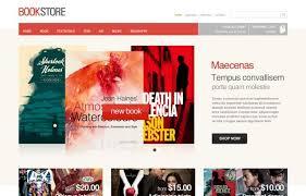 bookstore templates cmsgadget com free and premium wordpress
