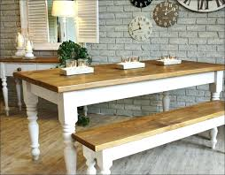 country kitchen table with bench farmhouse dining set with bench and chairs farm kitchen table