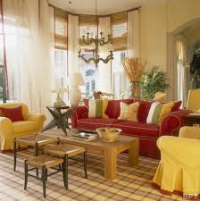 red and yellow living room artistic color decor fancy on red and