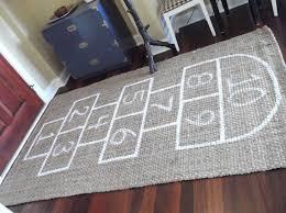 hopscotch rug bean bag set u2014 room area rugs hopscotch rug u0026 bean