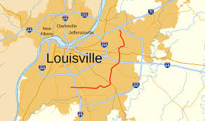 Map Of Louisville Ky Kentucky Route 1747 Wikipedia