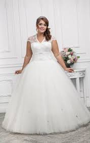 wedding dresses for plus size women plus size corset wedding dress pluslook eu collection