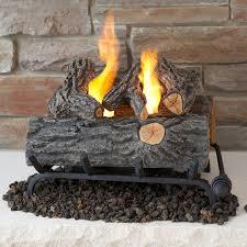 real flame 18 in convert to gel log insert oak hayneedle