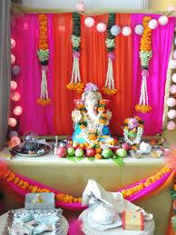 Home Mandir Decoration by Ganpati