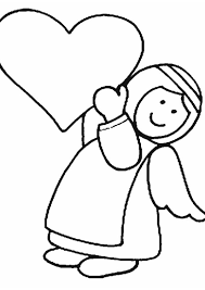 angel free coloring pages