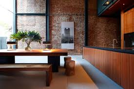 The Brick Dining Room Furniture Brick Wall Dining Table Lucky Shophouse In Joo Chiat Singapore