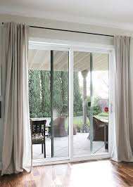 Pinch Pleat Drapes For Patio Door Curtain Rods From Galvanized Pipes Without The Industrial Look
