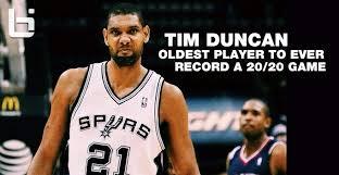 Tim Duncan Meme - tim duncan 23pts 21rebs and game winner vs the hawks