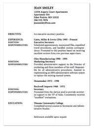Secretary Resume Nurse Senior Practicum Resume Sample Http Exampleresumecv Org