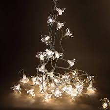 christmas tree flower lights moon flower fairy lights by idyll home notonthehighstreet com