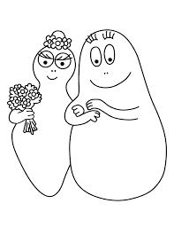 personnages celebres barbapapa 1984 barbapapas coloring pages