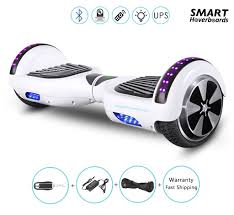 6 5 hoverboard with bluetooth speakers bluetooth and led lights