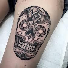 thigh chicano skull best ideas gallery