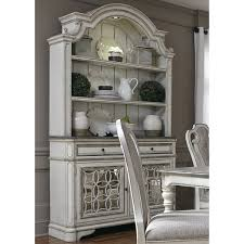 magnolia manor antique white buffet and hutch free shipping
