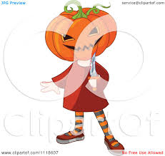 halloween kid clipart cartoon of a trick or treating halloween kid in a jack costume