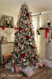 the fancy shack christmas home tour holidays pinterest