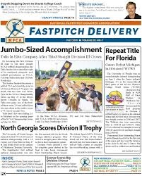 nfca fastpitch delivery july 2015 by national fastpitch coaches