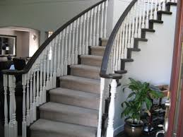 Painted Banisters Commercial U0026 Residential Interior U0026 Exterior Painting North Vancouver