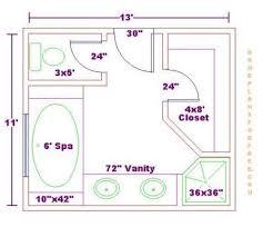 Bathroom Floor Plan Design Bathroom And Closet Floor Plans Bathroom Design 11x13 Size