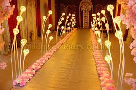 wedding stage decoration wedding lighting road lead aisle stand decoration pillar wedding