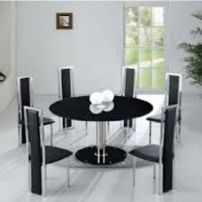 Glass Round Dining Table For  Foter - Glass dining room furniture