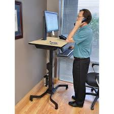 Sit Stand Treadmill Desk by Standing Desk Ergotron 24 280 928 Workfit Pd