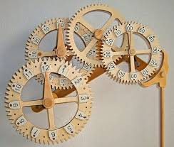 21 best wooden gear clocks images on pinterest wooden gears