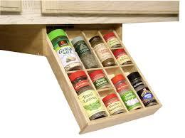 under cabinet storage kitchen craftsman kitchen with amazon hardwood spice racks under cabinet